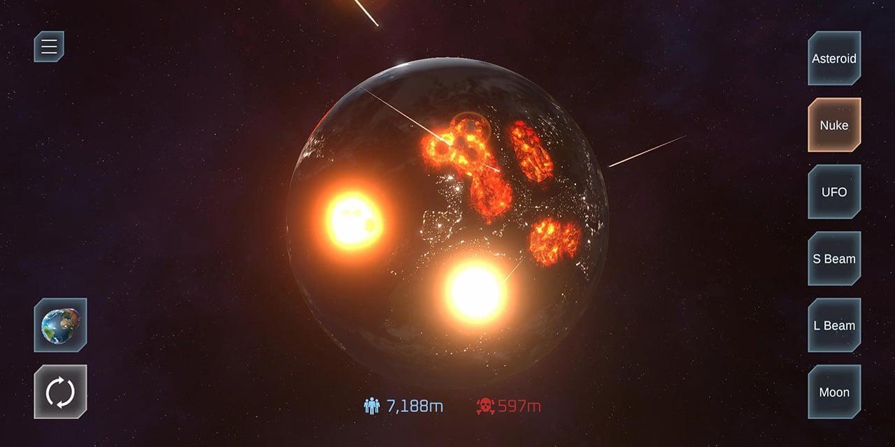 Solar Smash screen 1