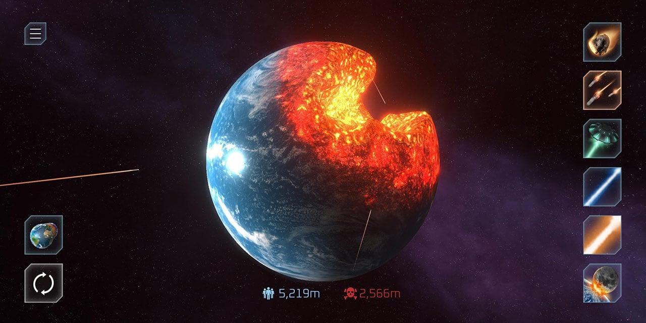 Solar Smash screen 2