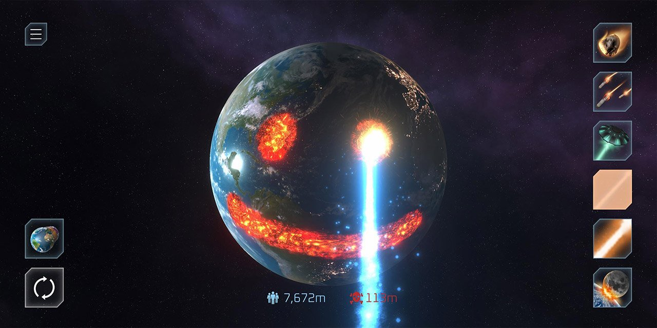 Solar Smash screen 3