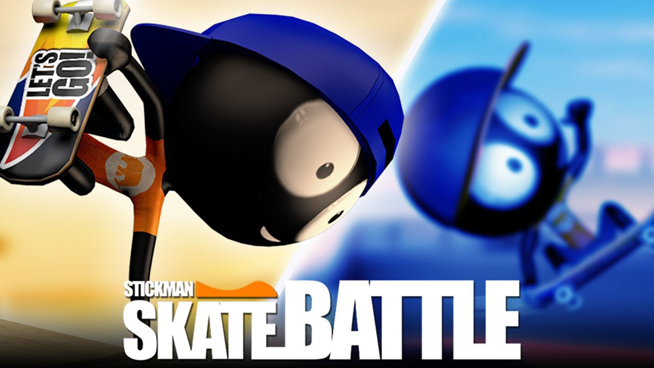 Stickman Skate Battle poster