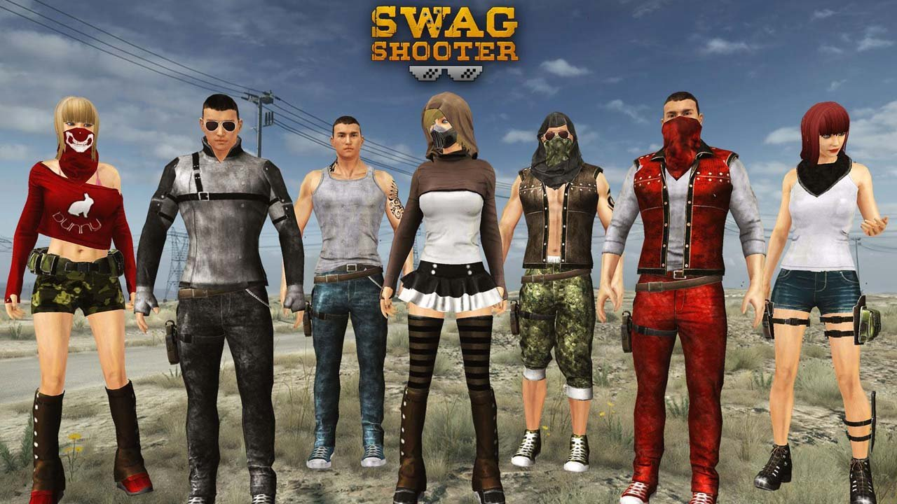 Swag Shooter Online poster