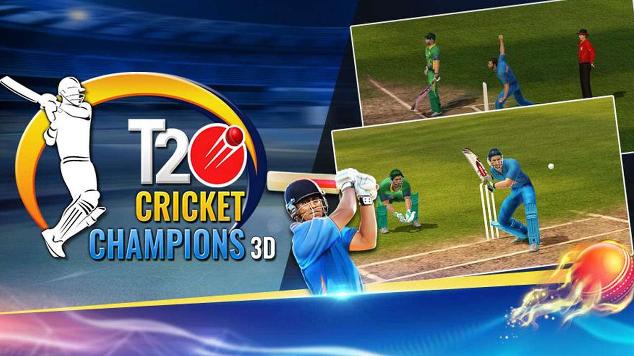 T20 Cricket Champions 3D poster
