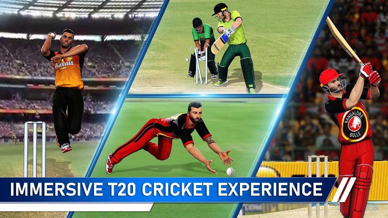 T20 Cricket Champions 3D screen 2