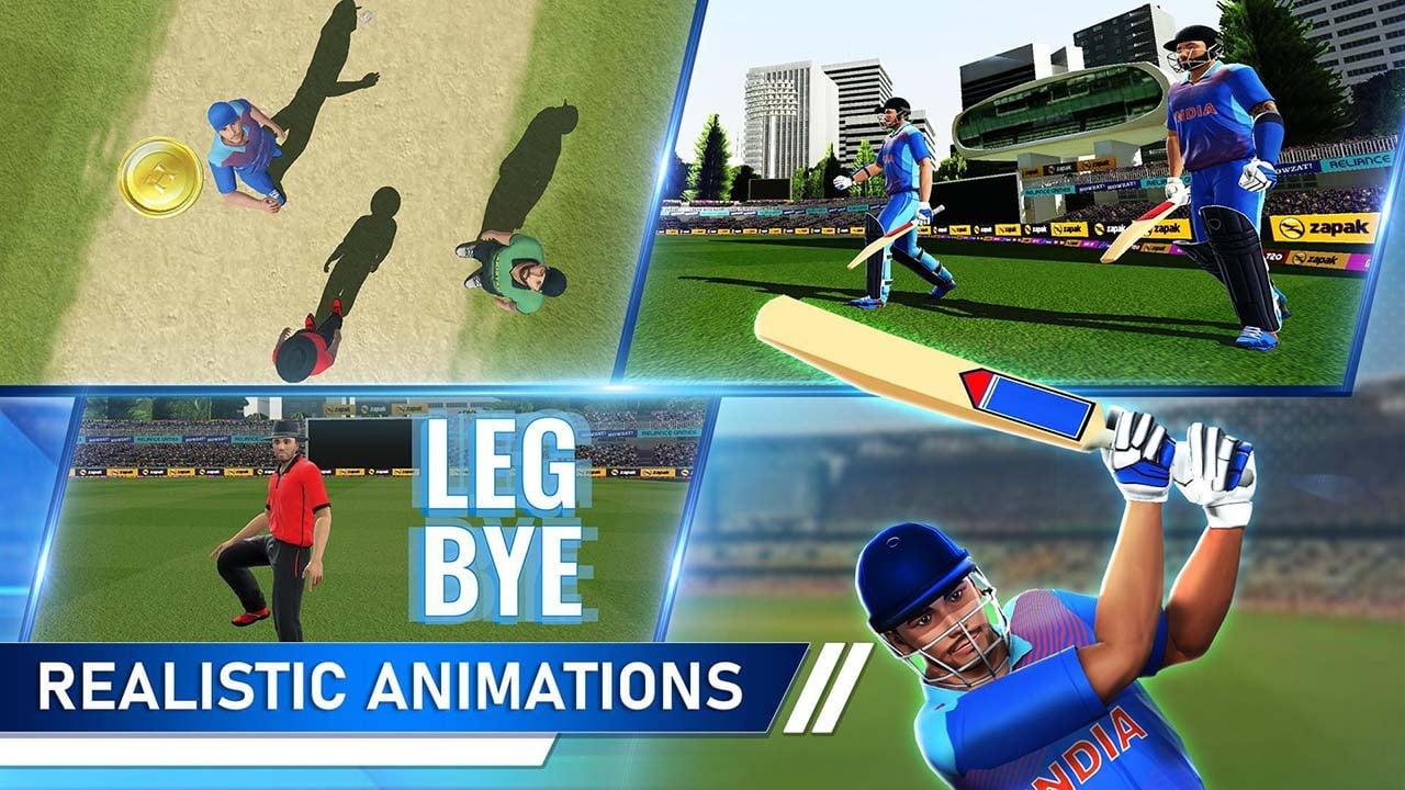 T20 Cricket Champions 3D screen 3
