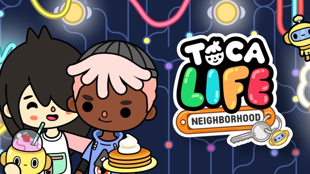 Toca Life Neighborhood poster