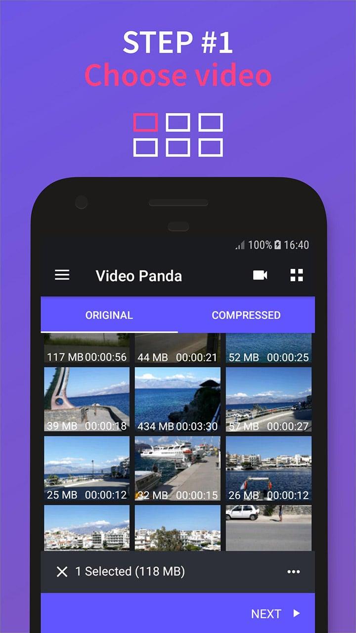 Video Compressor Panda screen 0