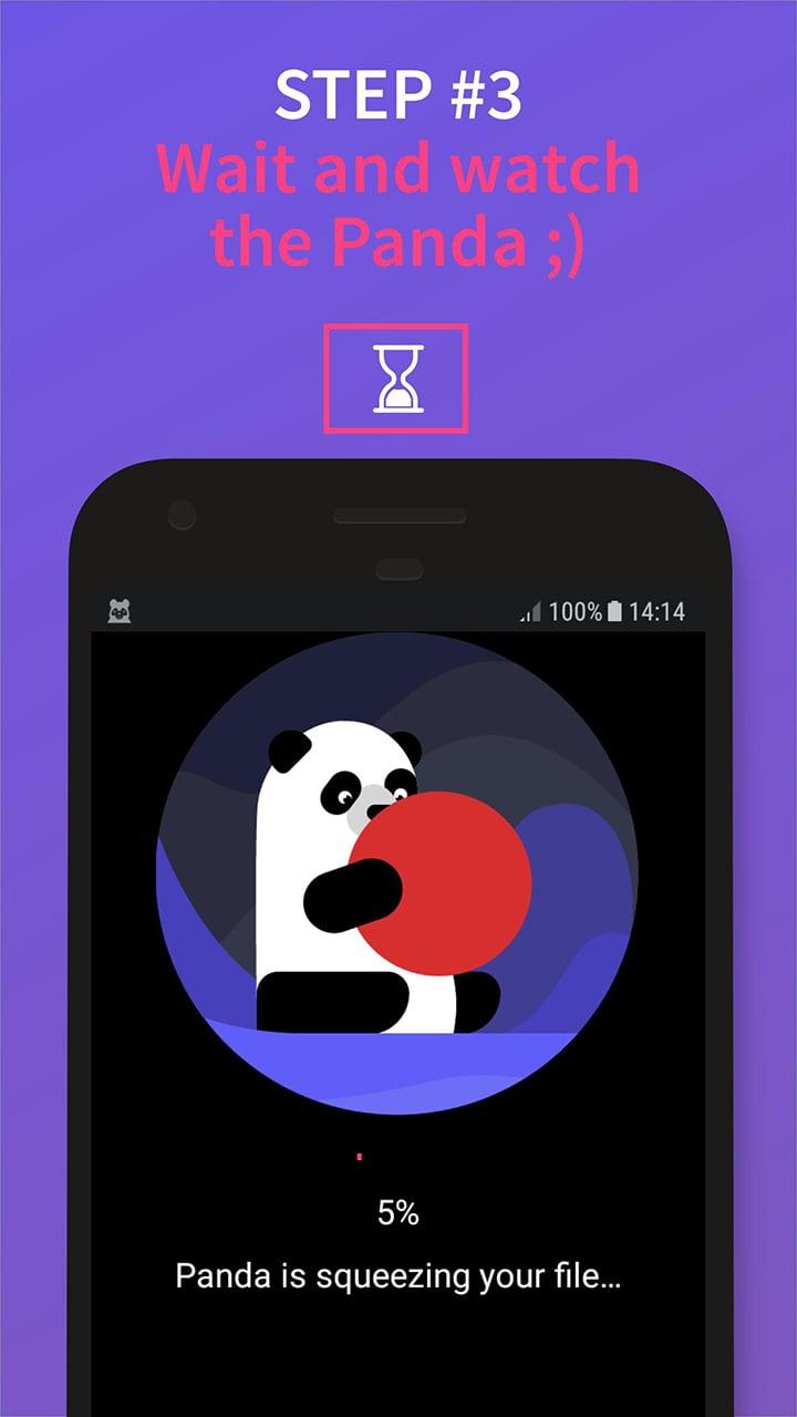 Video Compressor Panda screen 2