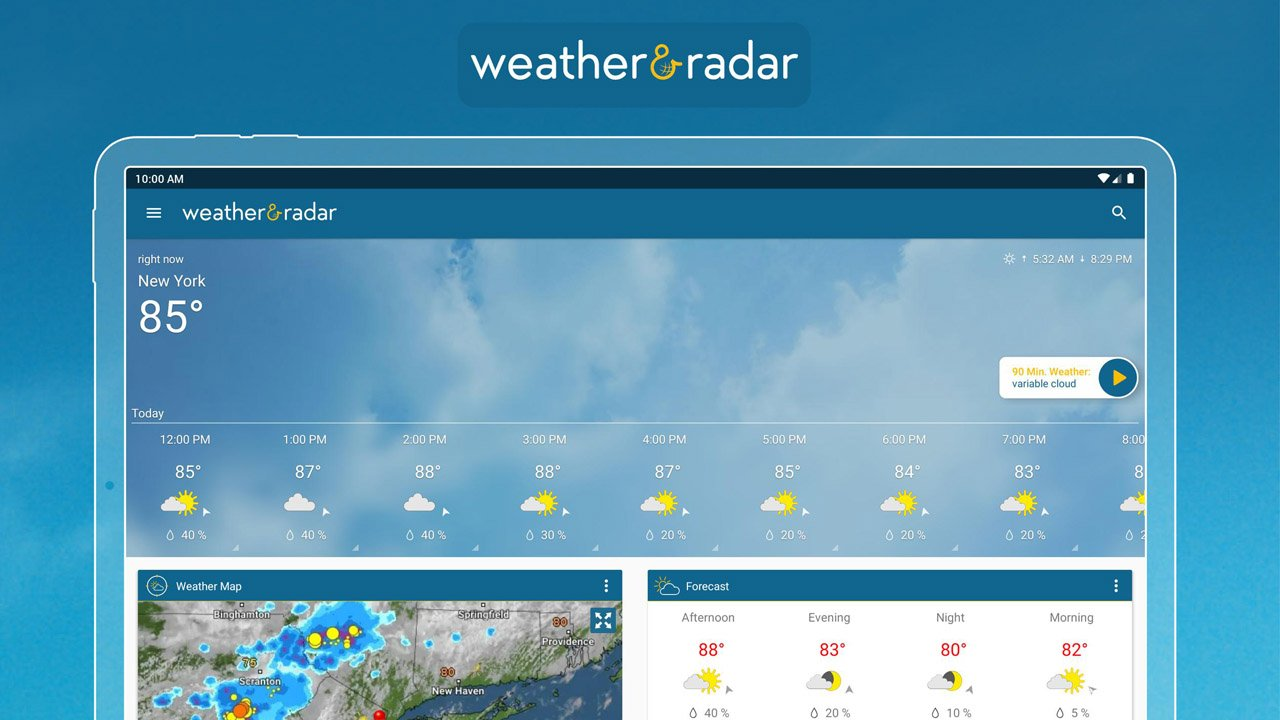 Weather & Radar poster