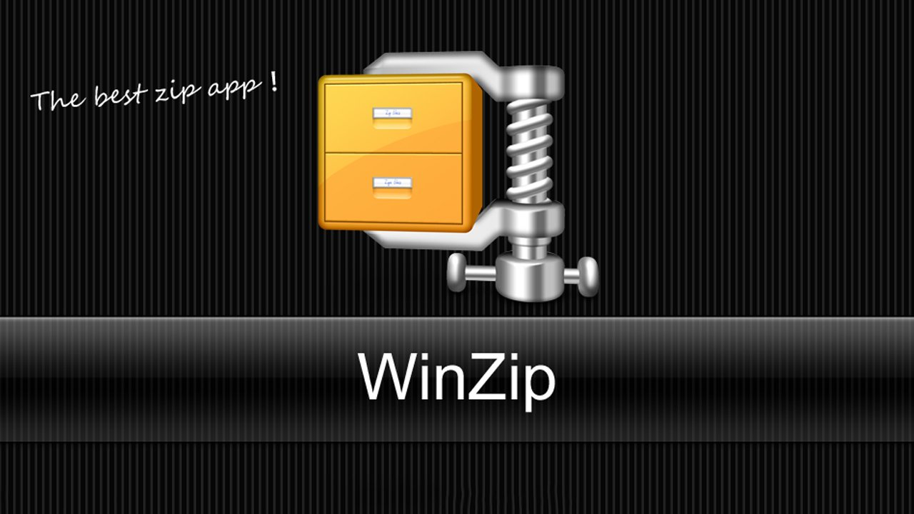 WinZip poster