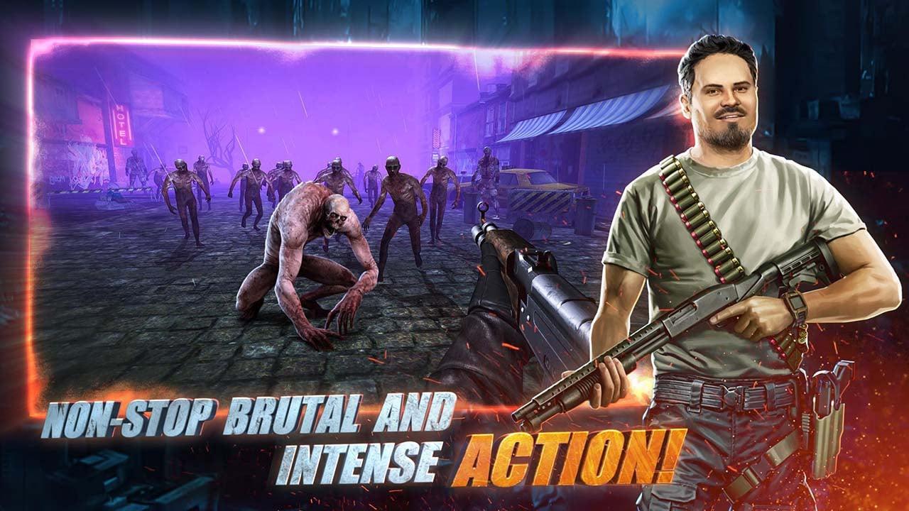 Zombeast Survival Zombie Shooter screen 0