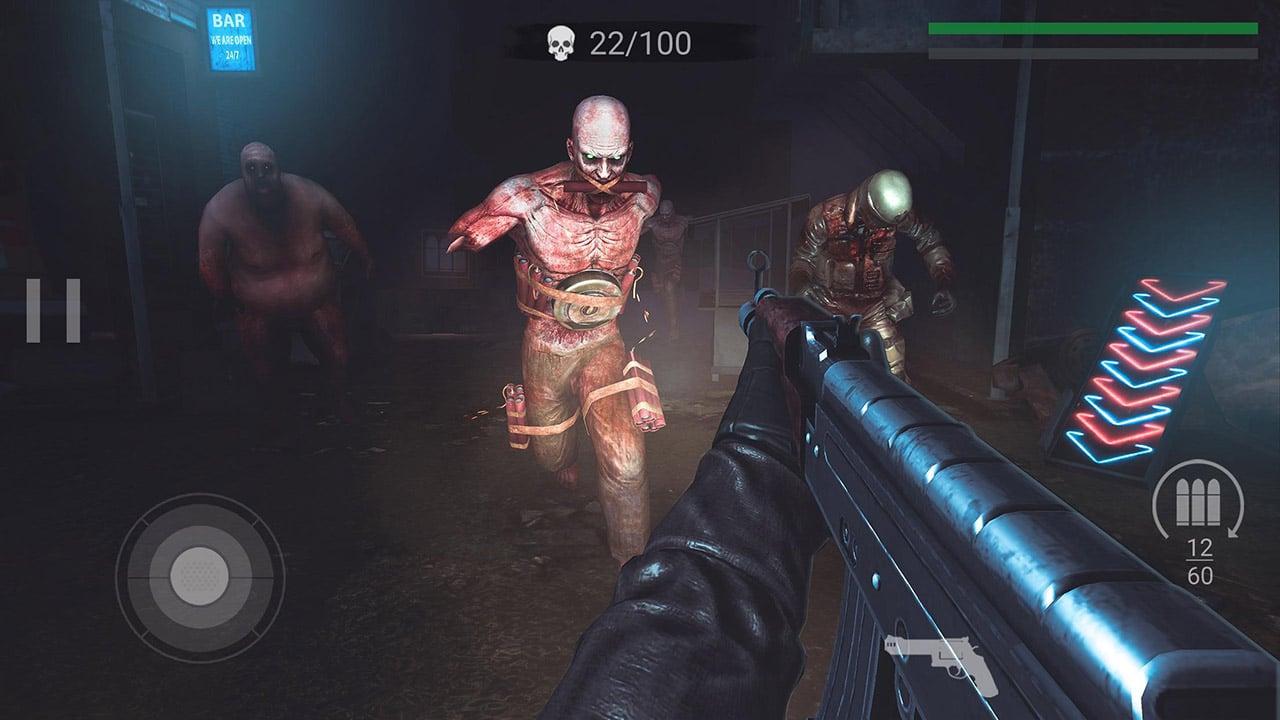 Zombeast Survival Zombie Shooter screen 2
