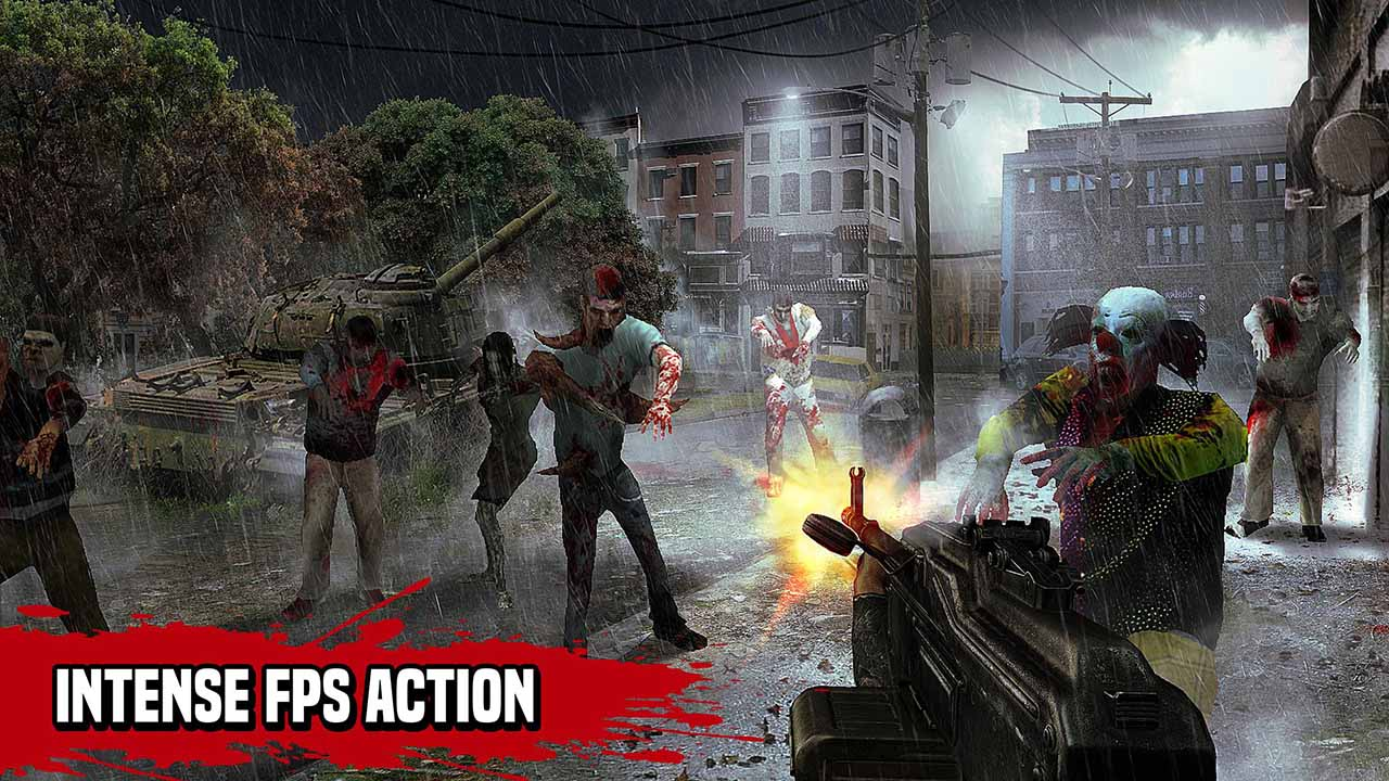 Zombie Hunter Sniper screen 1