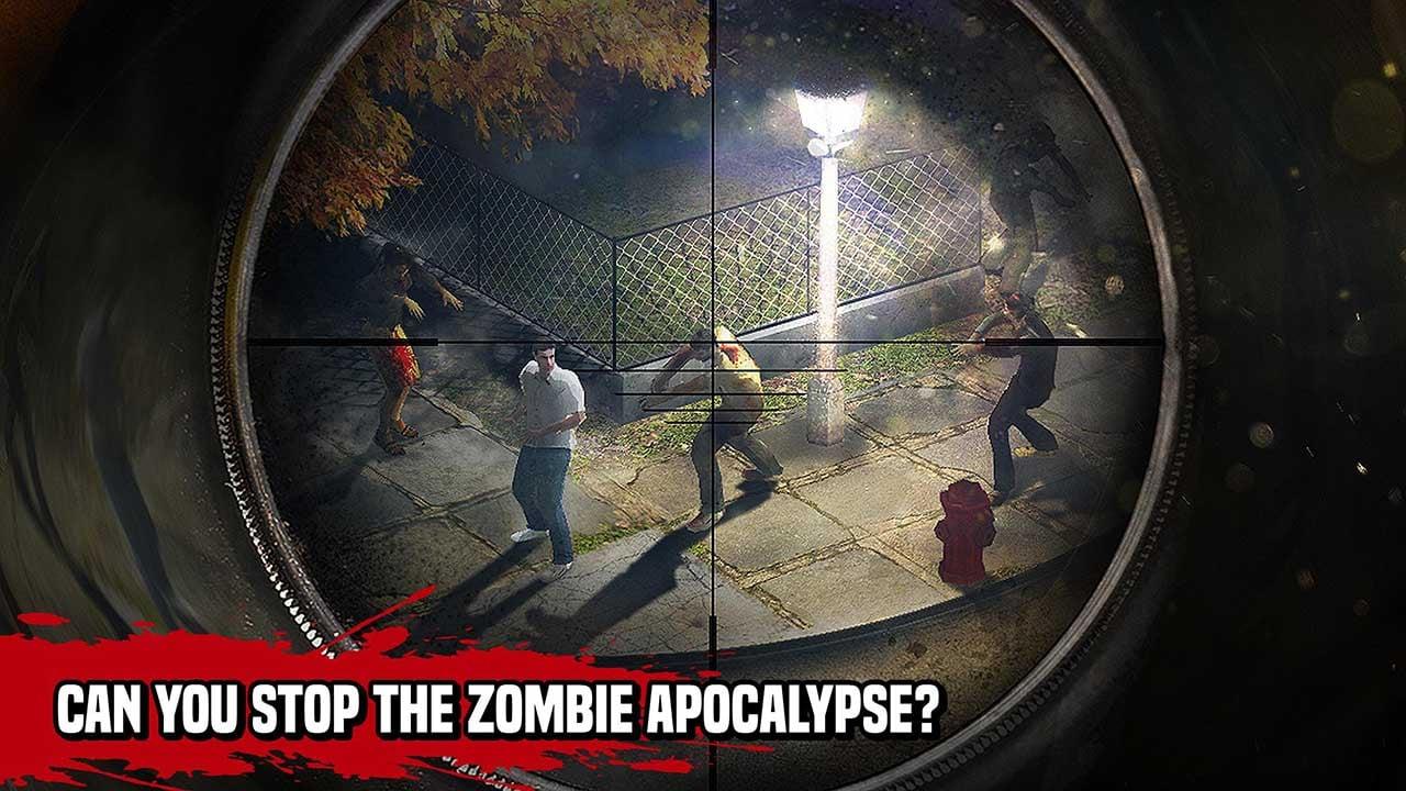 Zombie Hunter Sniper screen 2