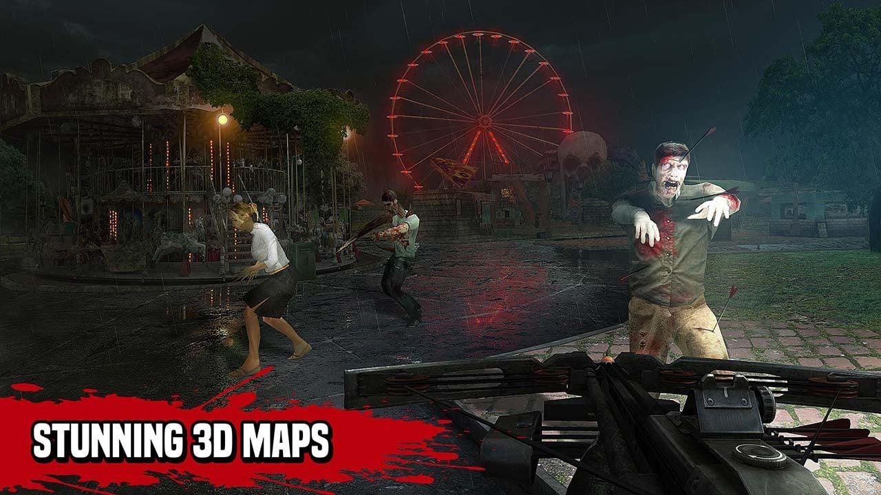 Zombie Hunter Sniper screen 4