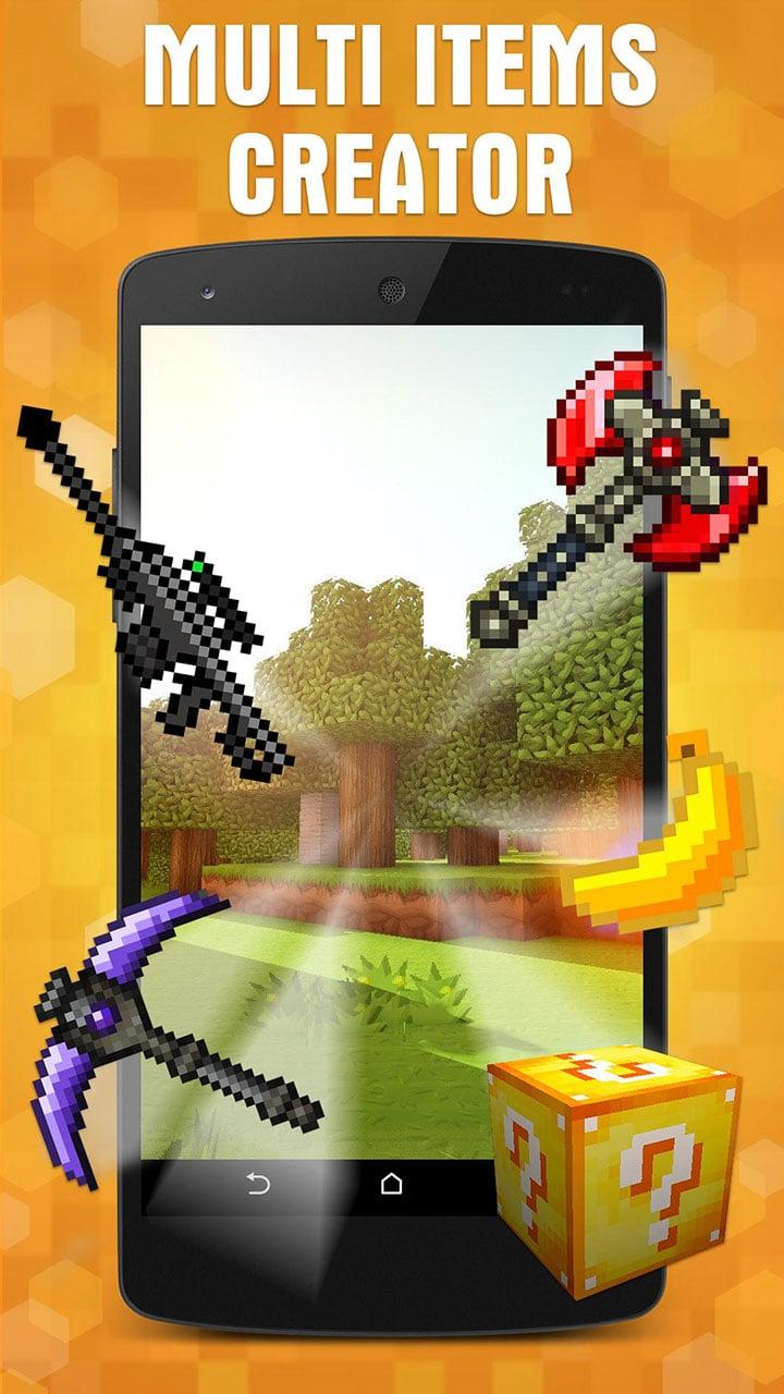 AddOns Maker for Minecraft PE screen 0