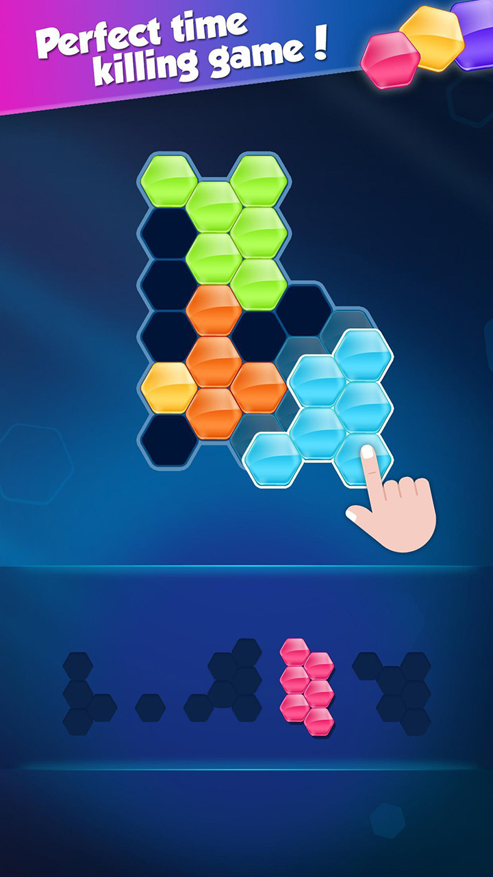 Block Hexa Puzzle screen 0