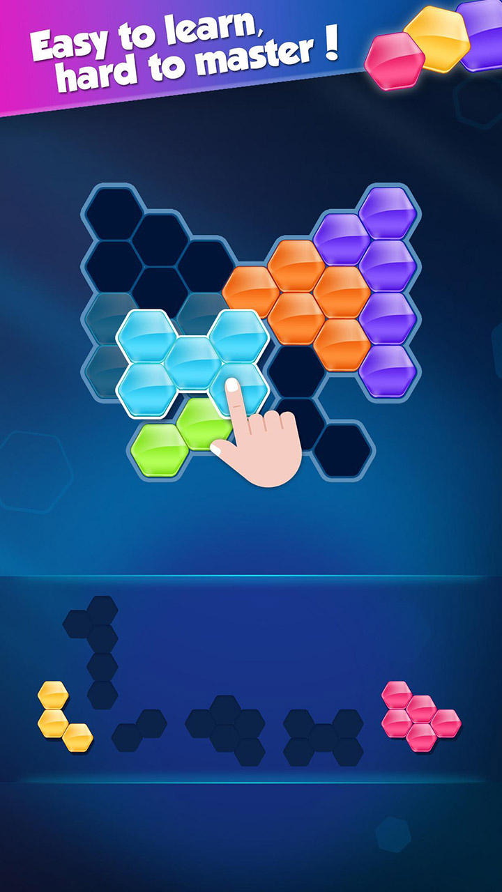 Block Hexa Puzzle screen 1
