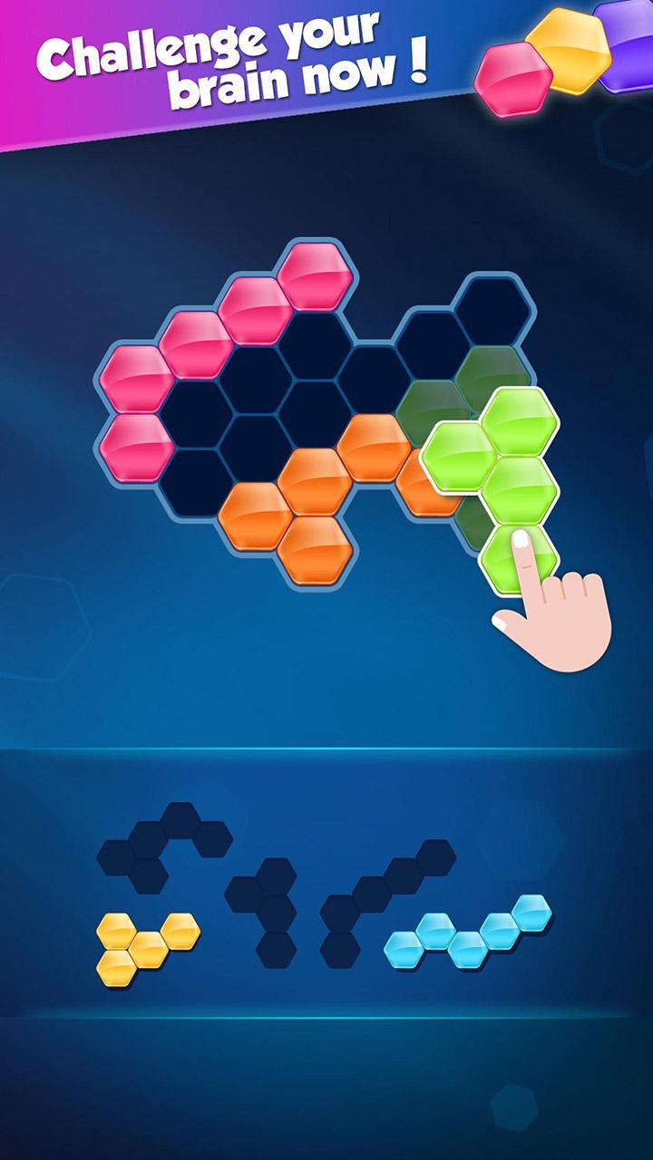 Block Hexa Puzzle screen 2