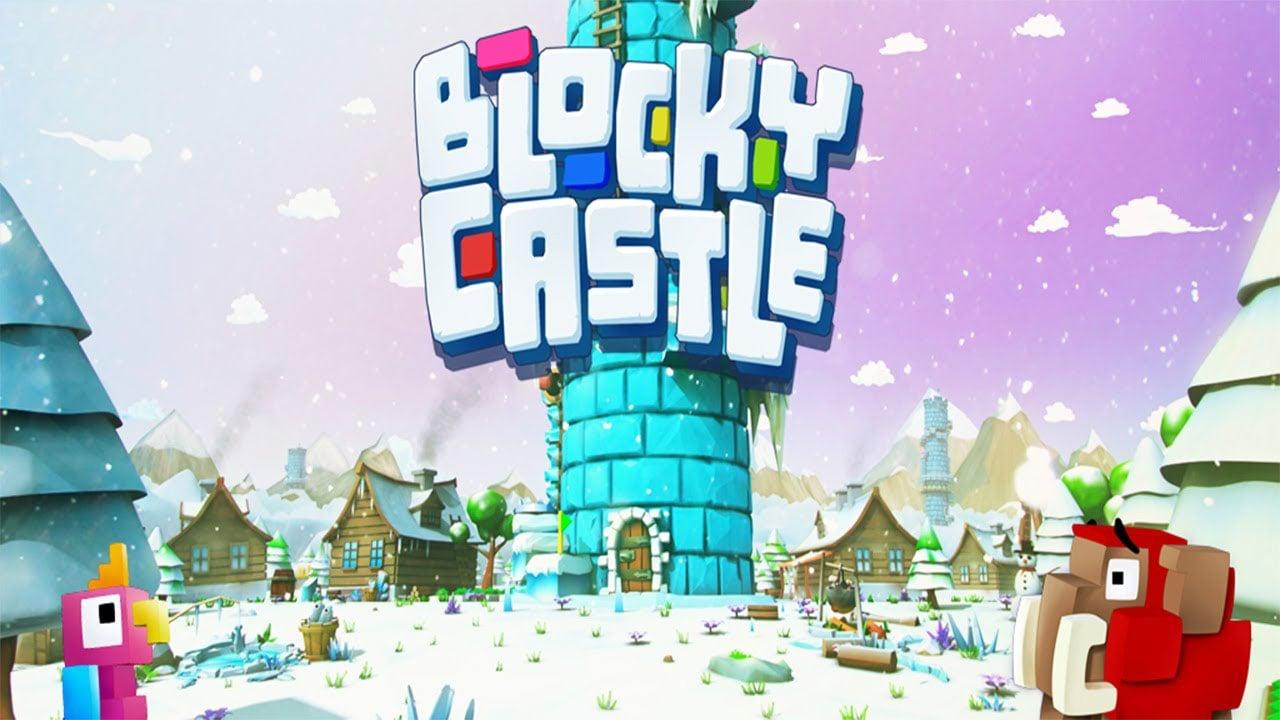 Blocky Castle poster