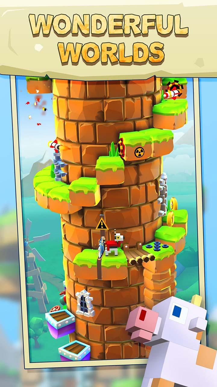 Blocky Castle screen 1