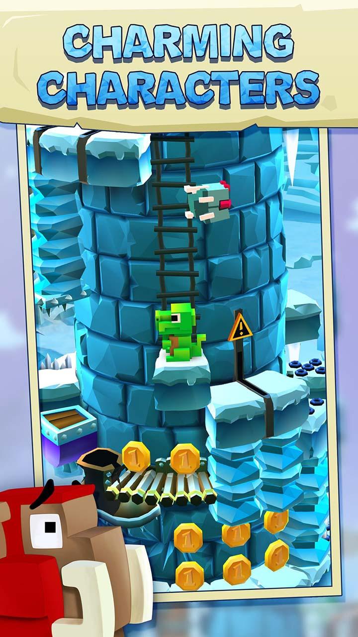 Blocky Castle screen 2