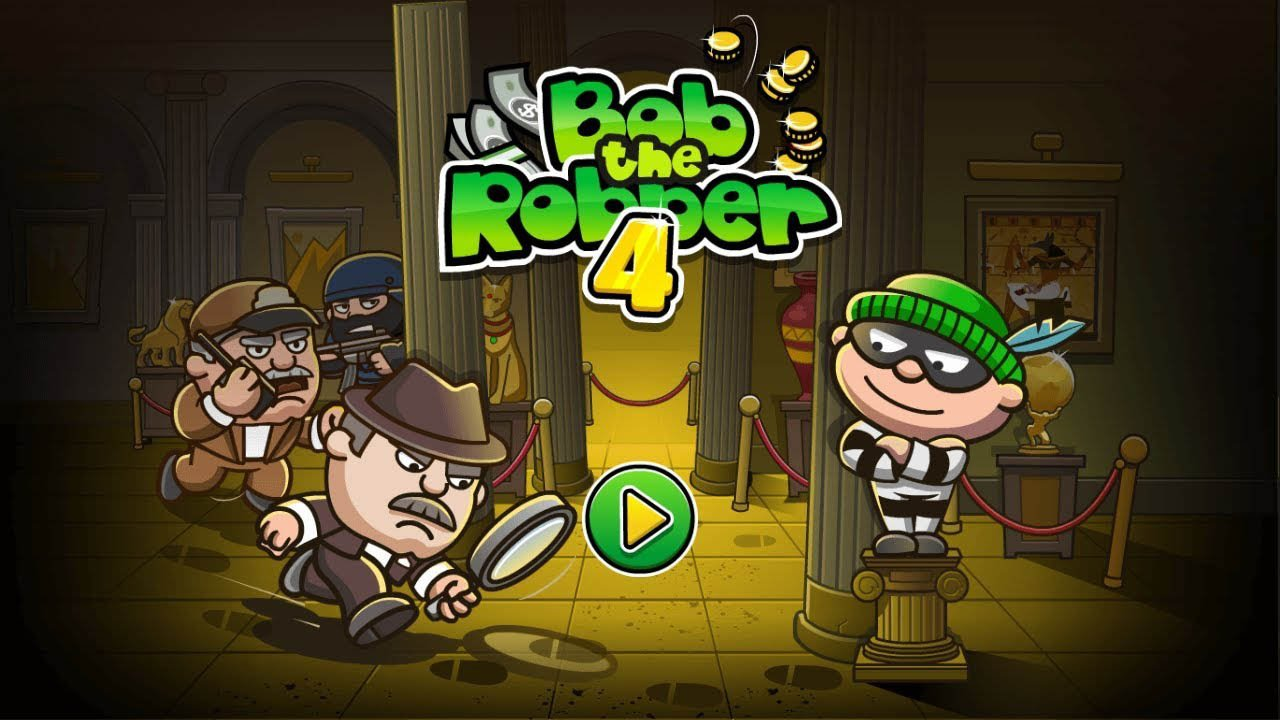 Bob The Robber 4 poster