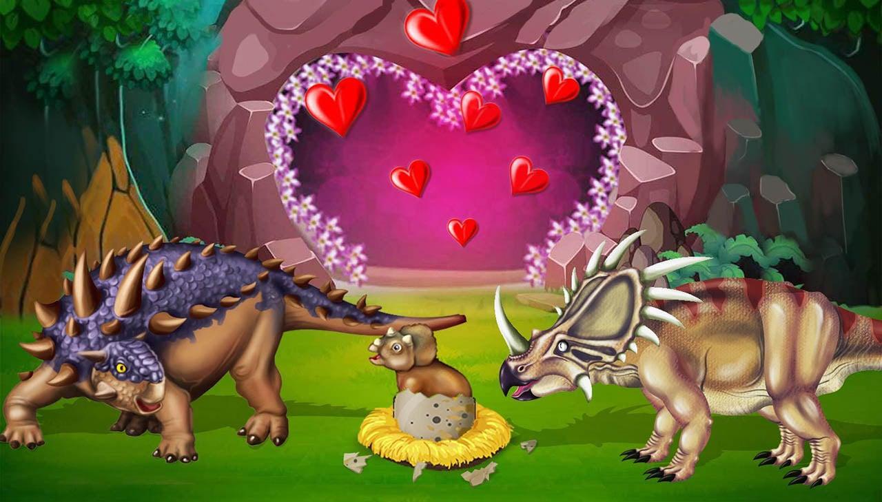 Dino Battle screen 3