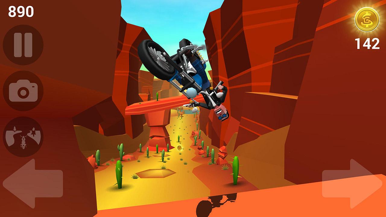 Faily Rider screen 1