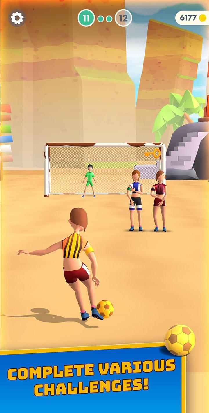 Flick Goal screen 0