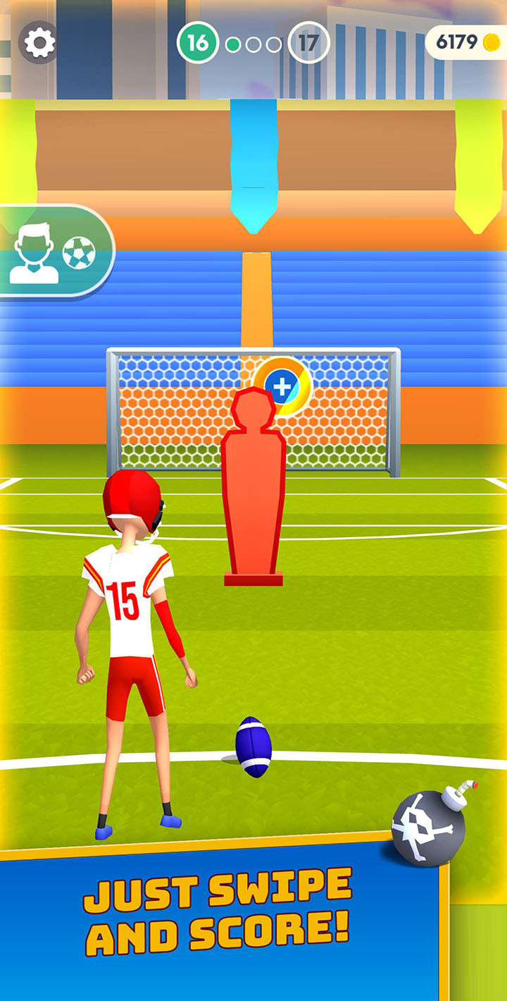Flick Goal screen 4