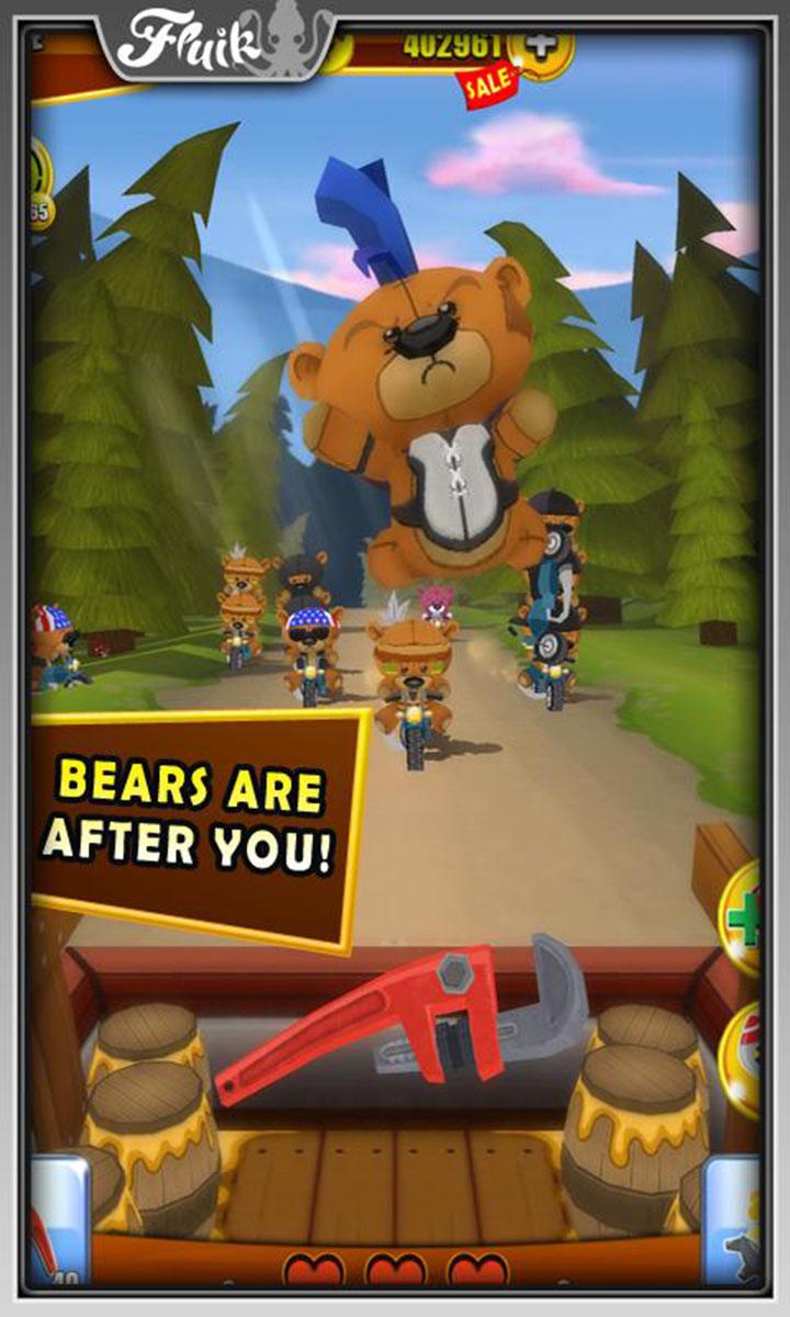 Grumpy Bears screen 1
