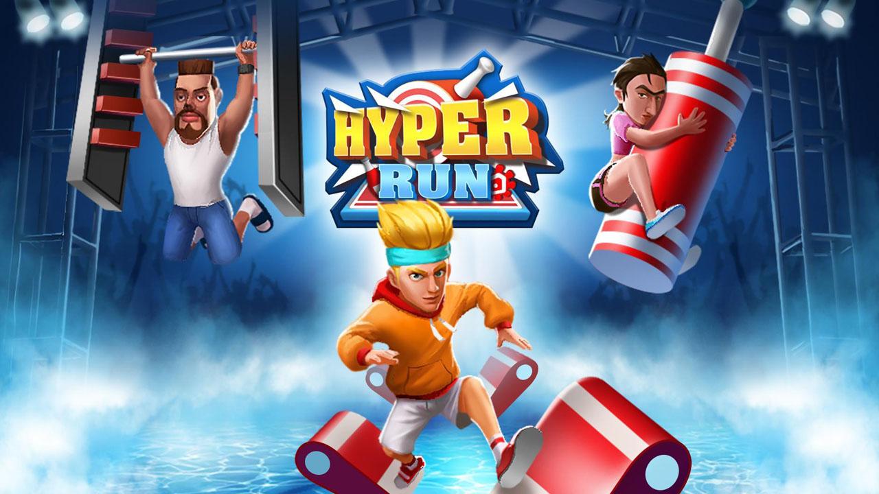 Hyper Run 3D poster