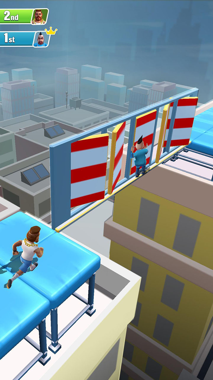 Hyper Run 3D screen 3