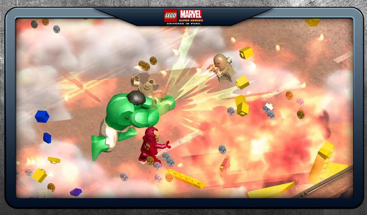 LEGO Marvel Super Heroes screen 4