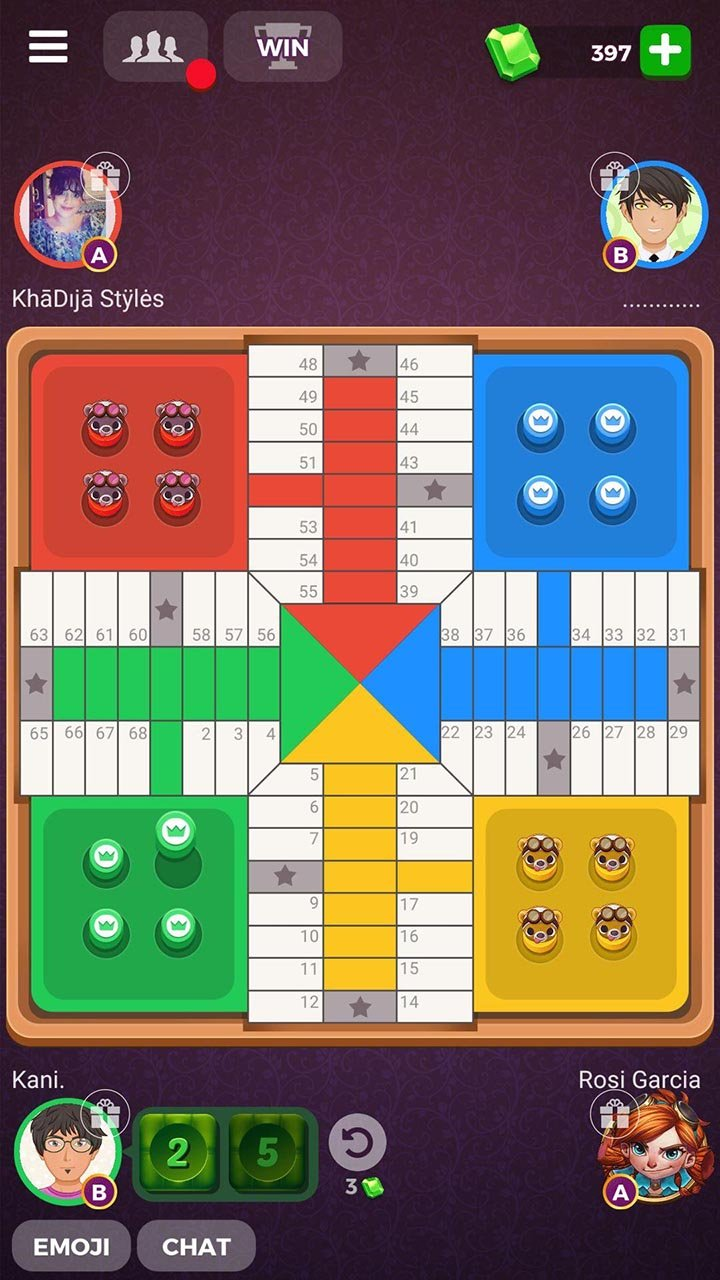 Parchisi STAR Online screen 4