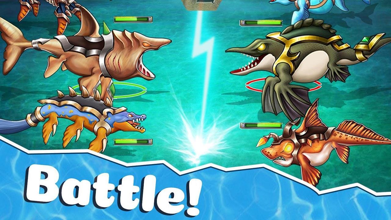 Sea Monster City screen 7