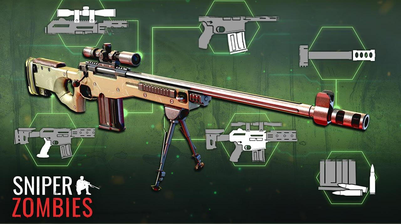 Sniper Zombies screen 1