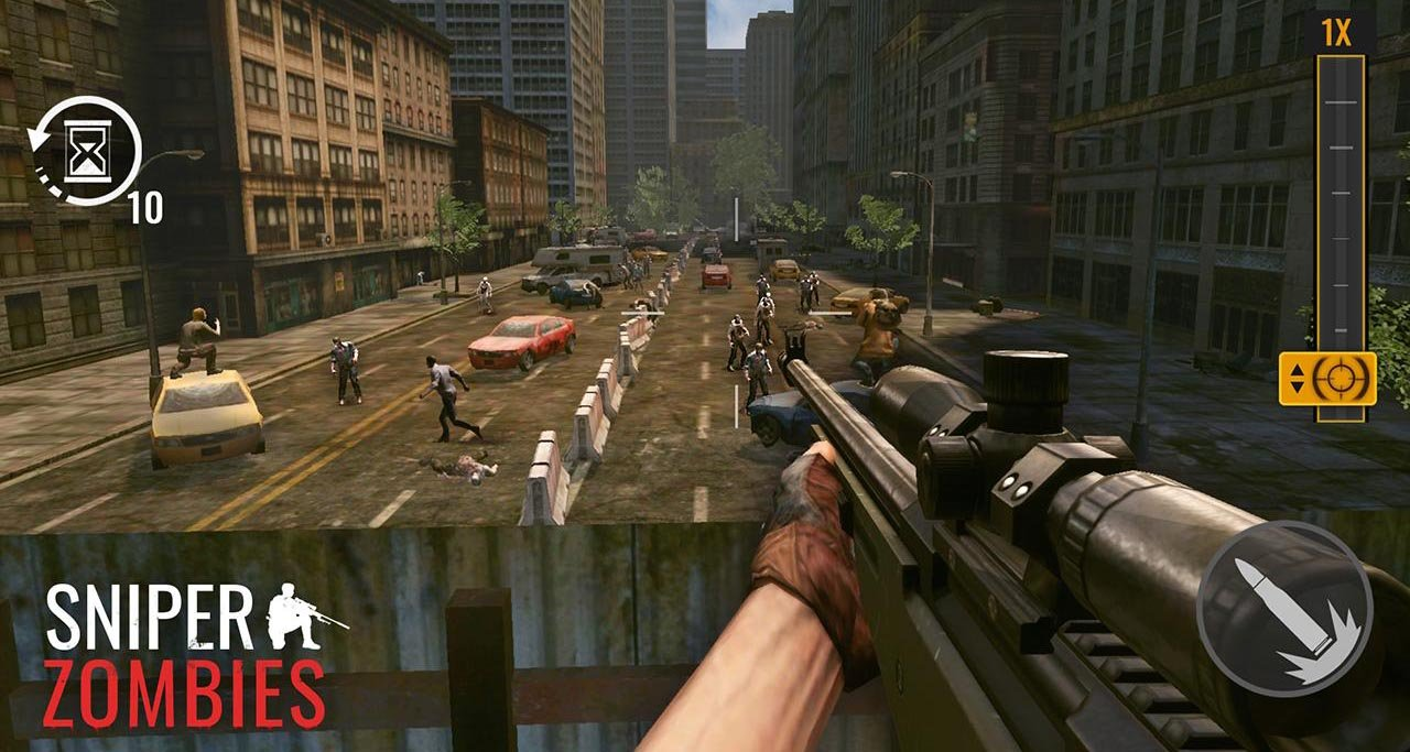 Sniper Zombies screen 2