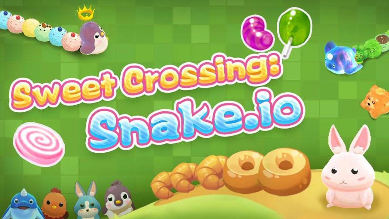 Sweet Crossing Snake io poster