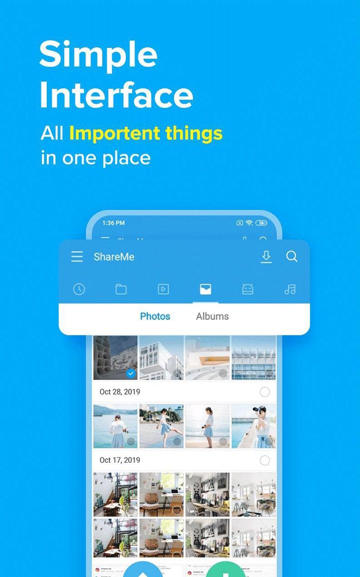 ShareMe screen 4