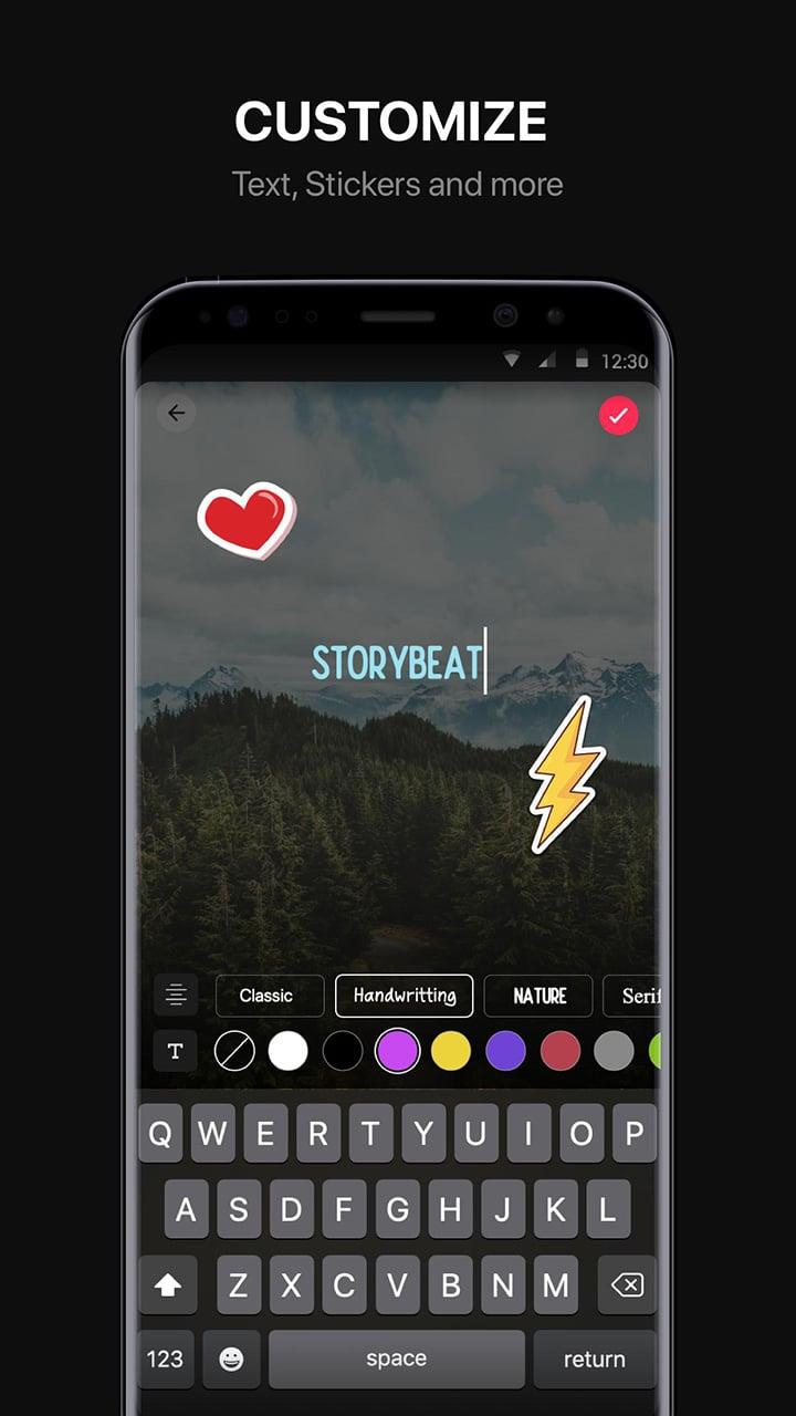 Storybeat screen 2