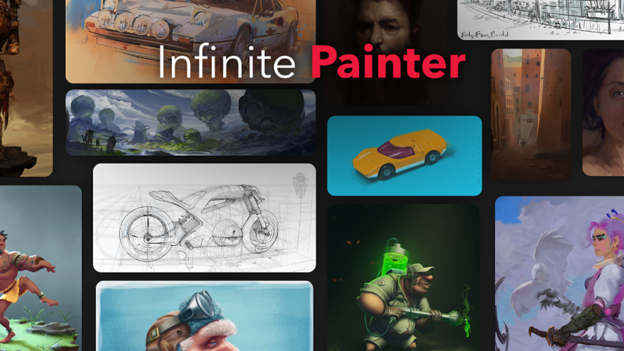 Infinite Painter banner