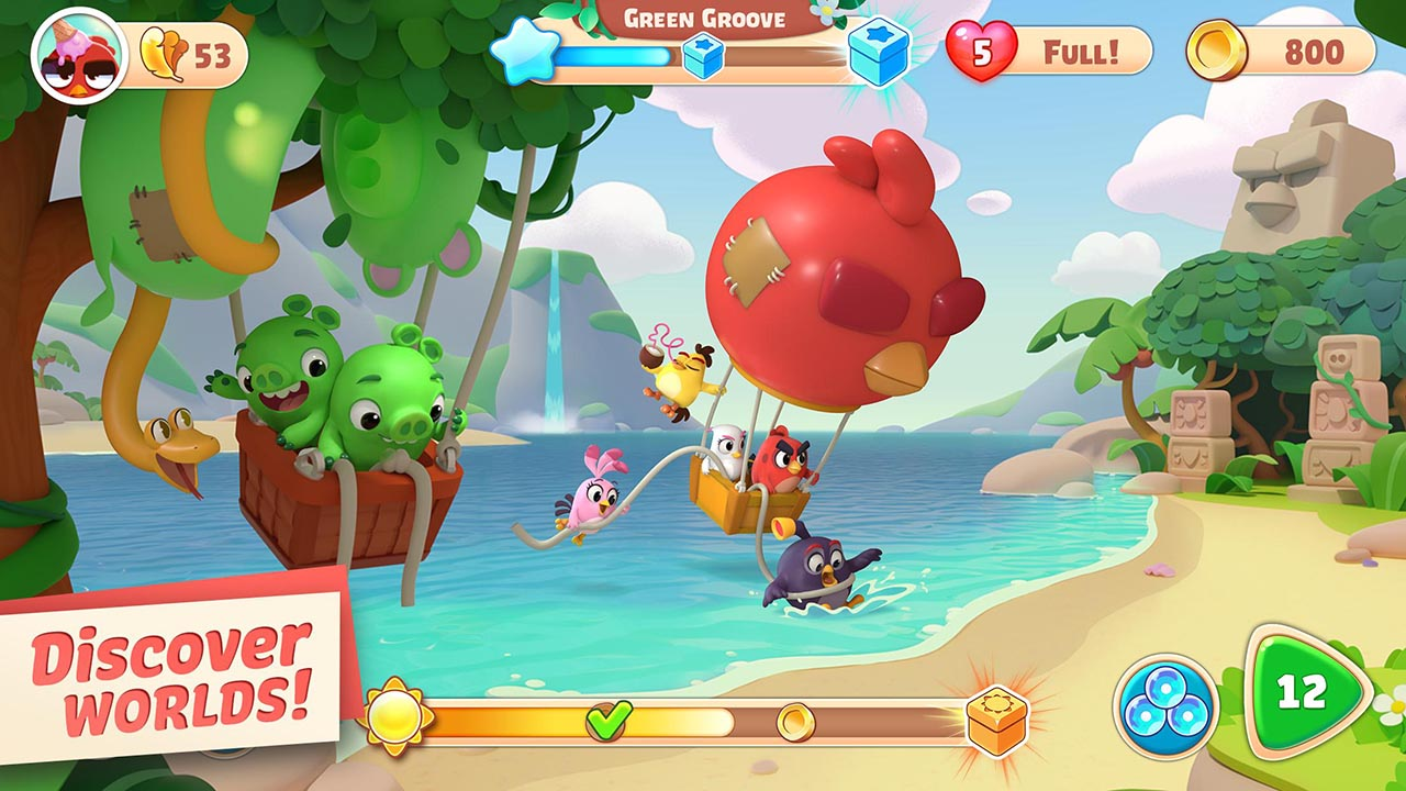 Angry Birds Journey screen 1