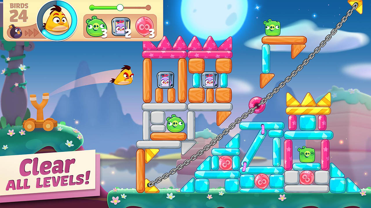 Angry Birds Journey screen 2