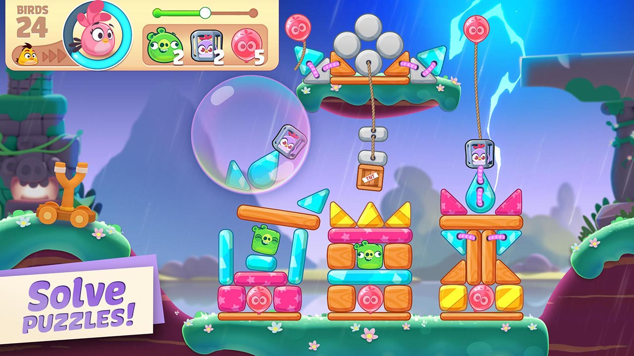 Angry Birds Journey screen 3