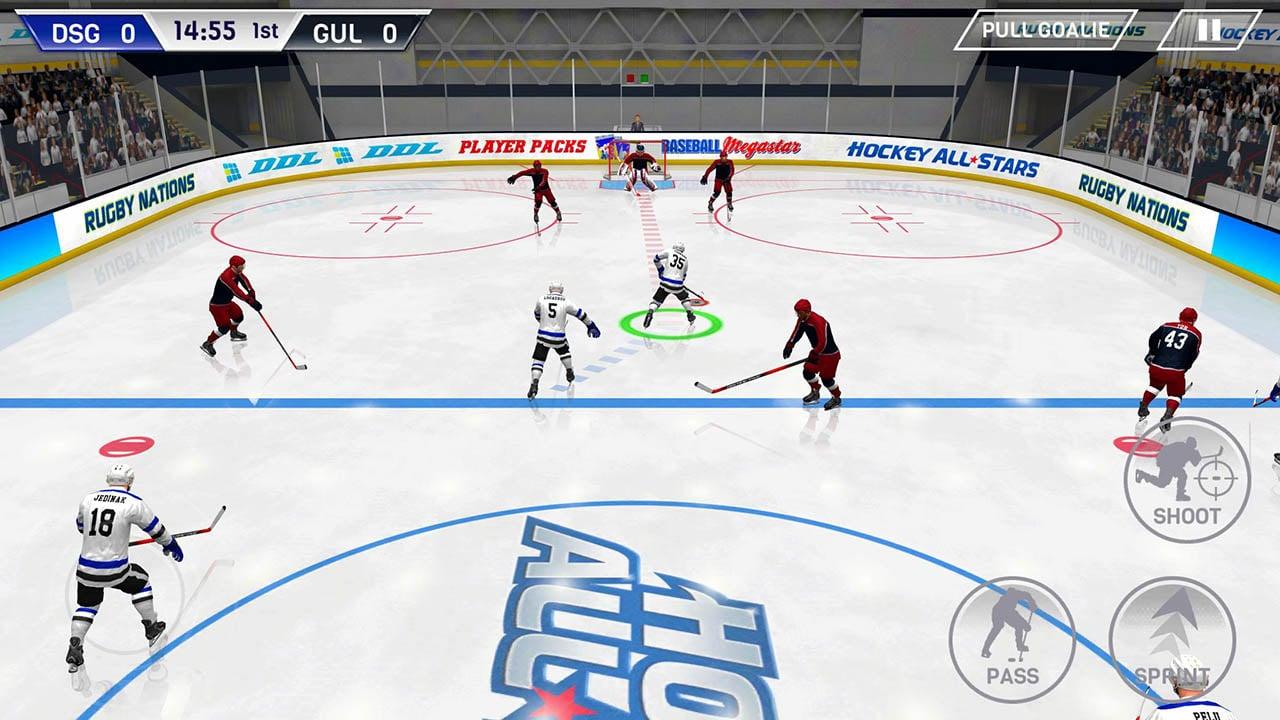 Hockey All Stars screen 0