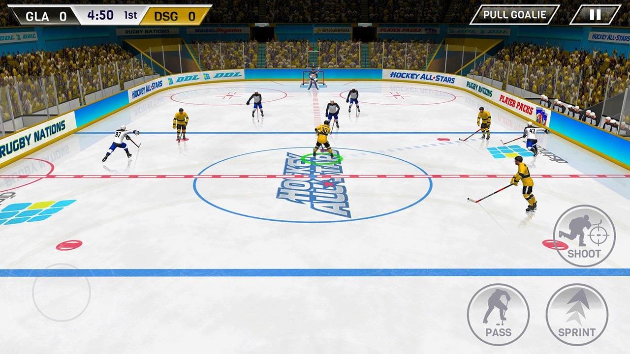 Hockey All Stars screen 1