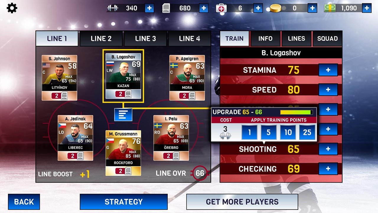 Hockey All Stars screen 3