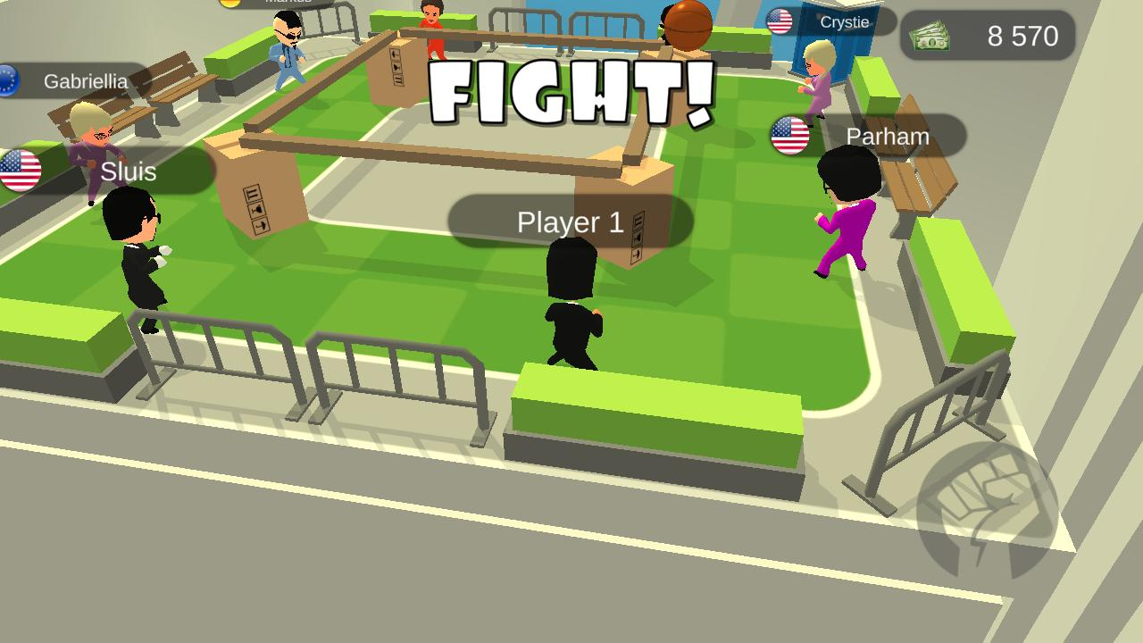 I The One Action Fighting Game screen 1
