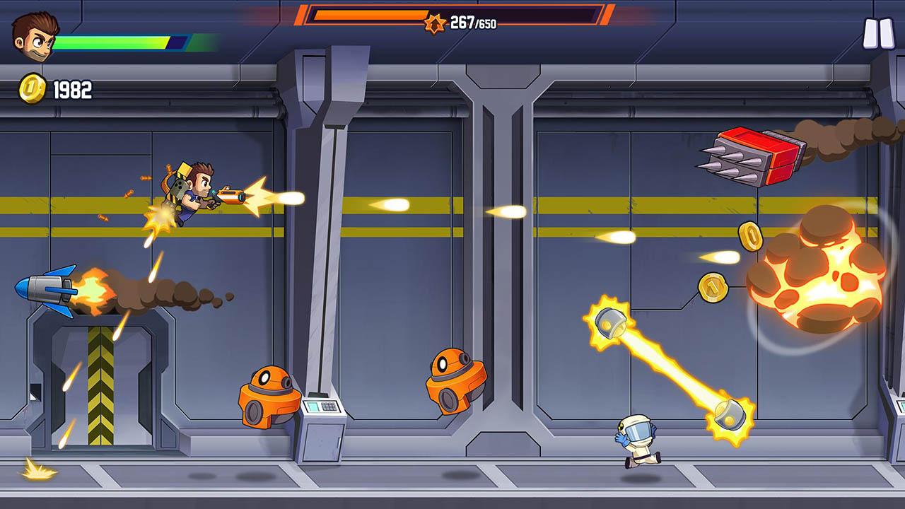 Jetpack Joyride 2 screen 3